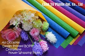 flower wrapping paper cut flower wrapping paper flower sleeves chun yu plastic