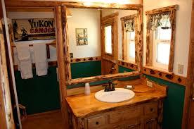 Rustic Cabin Bathroom Ideas - fascinating lodge bathroom decor u2014 office and bedroom
