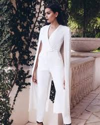 white jumpsuit wedding wedding dress lol for after the ceremony to