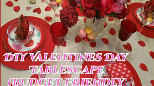 Valentines Day Tablescapes by Creative Glam Diy Valentine U0027s Day Tablescape Budget