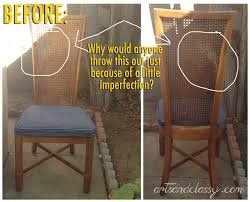 Cane Peacock Chair For Sale Crafty Allie Diy Curb Side Cane Back Chair Flip