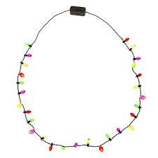 cheap christmas light up necklace mini bulbs christmas light up necklace look as lit as a christmas