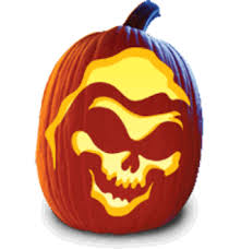 free set of 12 pumpkin carving patterns