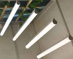 led suspended lighting fixtures 28w 40w 52w 300 degree lighting 50mm linear suspension pendant led