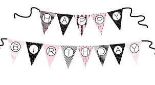 Happy Birthday Flags Cake Face Toppers New Birthday Banners