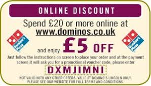 printable vouchers uk dominos vouchers 2015 2016 uk updated 2018