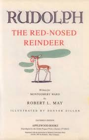 rudolph red nosed reindeer illustrated song sing books