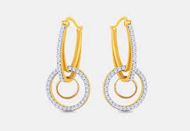malabar earrings buy malabar gold diamonds jewellery online shoppers stop