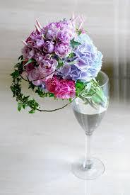 theme wedding bouquets purple blue theme wedding bouquet by hana flower boutique by hana