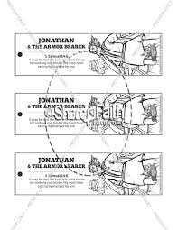 samuel coloring pages from the bible jonathan and his armor bearer sunday coloring pages