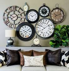 Decorative Wall Clocks For Living Room Best 25 Wall Of Clocks Ideas On Pinterest Picture Wall Clocks