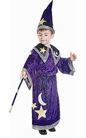 amazon com kids magic wizard costume by dress up america clothing