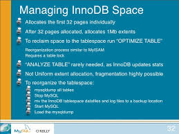 Change Table From Myisam To Innodb Mysql For Oracle Dbas