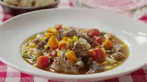 beef barley vegetable soup recipe allrecipes com