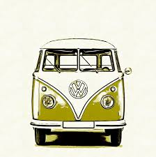 new volkswagen bus yellow vw bus paintings fine art america