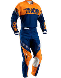 motocross pants and jersey combo thor s16 phase motocross pants jersey combo ktm orange navy