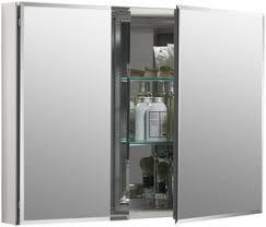 Two Door Medicine Cabinet Kohler 26 In Door Aluminum Medicine Cabinet With Square