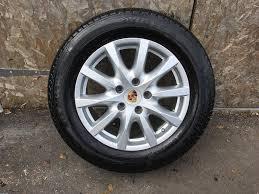 Porsche Cayenne 4x4 - alloys x 4 of 18 inch genuine porsche cayenne 4x4 unmarked and in