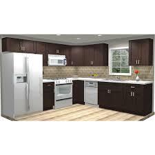 birch wood kitchen cabinets details about cabinets 10x10 wood kitchen cabinets rta shaker espresso