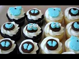 diy baby shower cupcakes decor ideas youtube