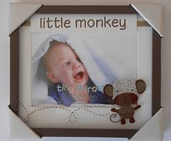 fetco home decor tiny miracles little monkey bambino photo picture