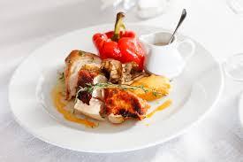 recette de cuisine de chef étoilé menu de noël de chef cuisiner la volaille