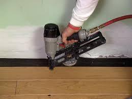 hardwood floor hardwood flooring nailers how to install an