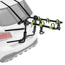 Ford Escape Bike Rack - swagman 80310 grid lock trunk mount bike rack for 3 bikes