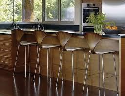Kitchen Countertop Shapes - modern bar stools and kitchen countertop stools in soft round shapes