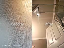 Best Thing To Clean Shower Doors Easy Way To Clean Shower Door Tracks Image Bathroom 2017