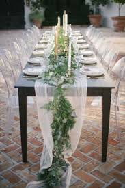 how to make a greenery table garland table garland garlands and