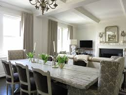 Gray Dining Room Ideas Gray Dining Room Furniture Distressed Dining Table Transitional
