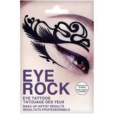 rock cosmetics eye rock eye tattoos feather eleven se