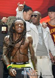 lil wayne birdman attend all in houston pictures