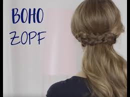 Frisuren Zum Selber Machen Nivea by Boho Zopf Selber Machen Nivea