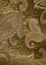 Upholstery Fabric For Curtains Drapery Fabrics Floral Fabrics Restivo Loden Green Paisley