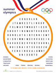 awesome collection of olympic printable worksheets for your