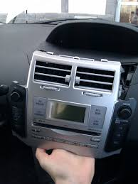 diy add aux input on toyota yaris w58824 head unit