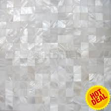aliexpress com buy seamless groutless pure white mother of pearl