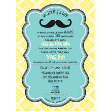 26 mustache baby shower invitations best free mustache