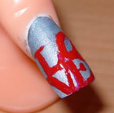 simple heart nail art gallery nail art designs
