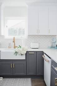 pics of kitchens with white cabinets and gray walls 25 timeless grey and white kitchen designs digsdigs