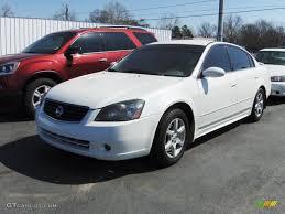 Nissan Altima 2005 - 2005 satin white pearl nissan altima 2 5 s 26672887 gtcarlot