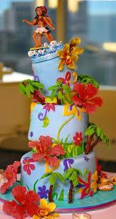 hawaiian volcano cake pictures cakes luau tiki treats