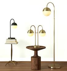 lights large contemporary floor lamp with table attached reading