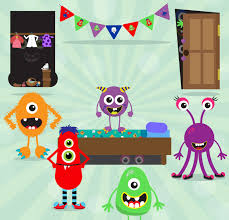 spooky clip art monster clip art spooky clipart closet clipart monsters