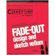 clearprint 1000hp series 8 5 x 11 vellum design and sketch 50