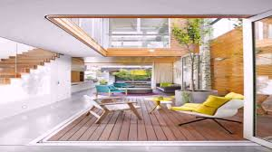 modern courtyard interior design ideas garden trends
