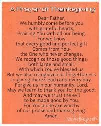prayer of thanksgiving shinzoo