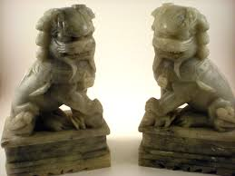 foo dog bookends foo dog bookends white farmhouse design and furniture foo dog